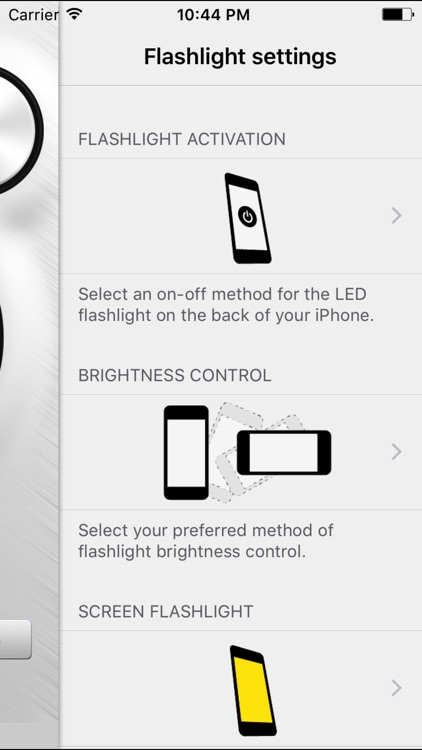 ViewMore - Torch (the most intelligent flashlight) screenshot-2