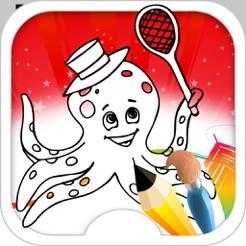 Gurita Permainan Mewarnai Gurita Di App Store