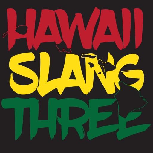 Hawaii Slang Sticker Pack 3