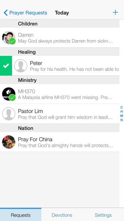 Prayer App - Christian Journal