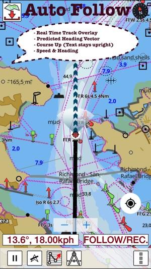 Marine navigation usa new zealand brazil offline gps for Fishing gps apps