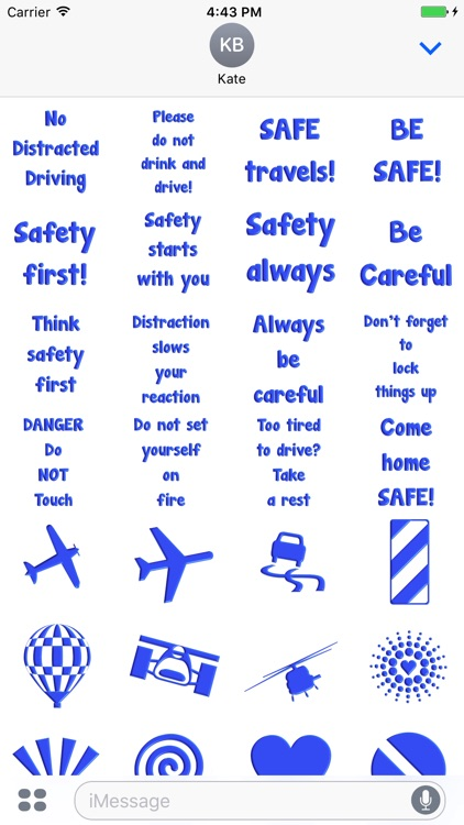 Safety First Stickers!