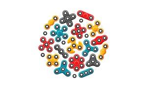 Fidget Spinner App & Stickers