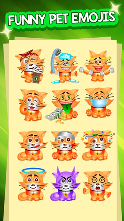 PetMoji - Kitty Emoji & Stickers screenshot-2