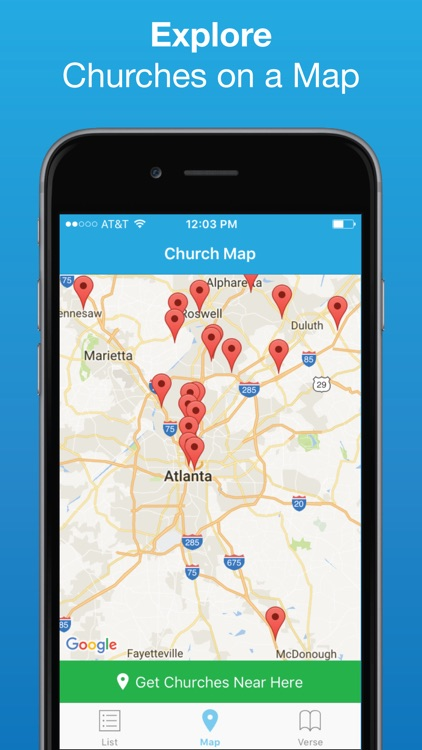 Church Finder: Locate Nearby Churches & Cathedrals
