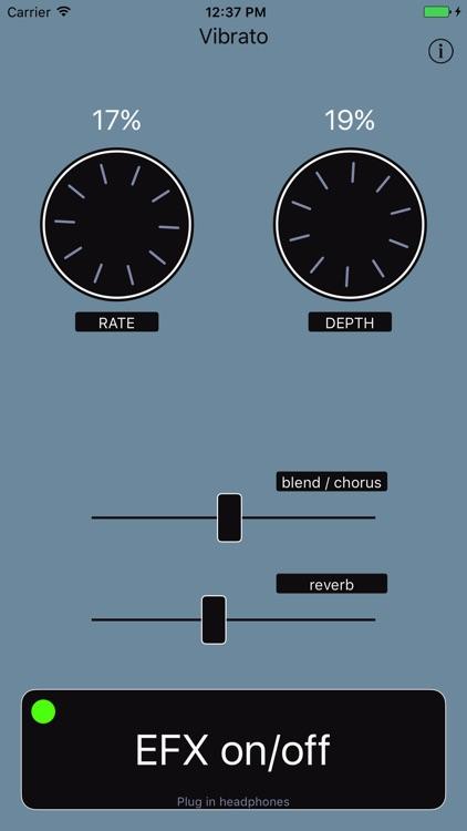 Vibrato - Audio Unit Effect