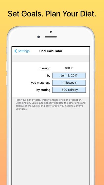 Weight Diary screenshot-3