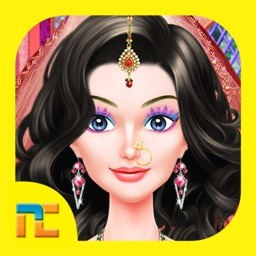 Indian Doll Fashion Salon : Dressup Game