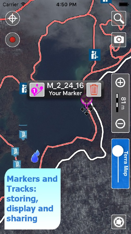 Trails of Plitvice Lakes - GPS Maps for Hiking screenshot-3