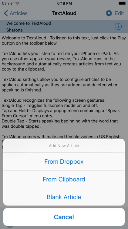 TextAloud screenshot-2