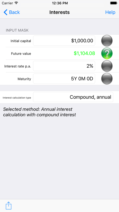 Finance Analyst screenshot one