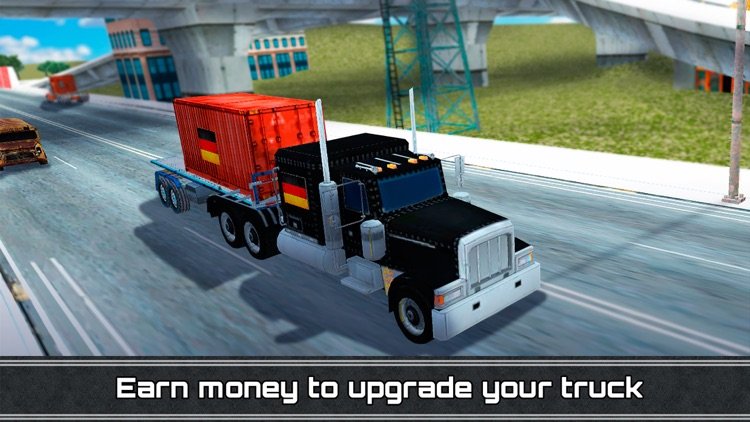 German Euro Truck Driving Simulator 3D