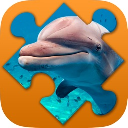 Seascape and Dolphin Jigsaw Puzzles