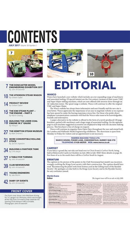Engineering in Miniature Magazine
