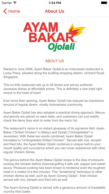 Ayam Bakar Ojolali screenshot-3