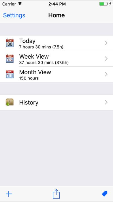 Itimeclock review screenshots