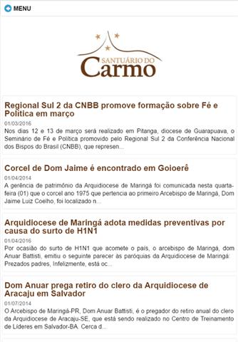 Santuário do Carmo - náhled