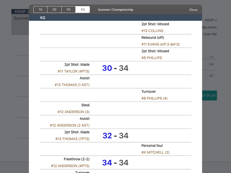HOOP J for Basketball Scores screenshot-1