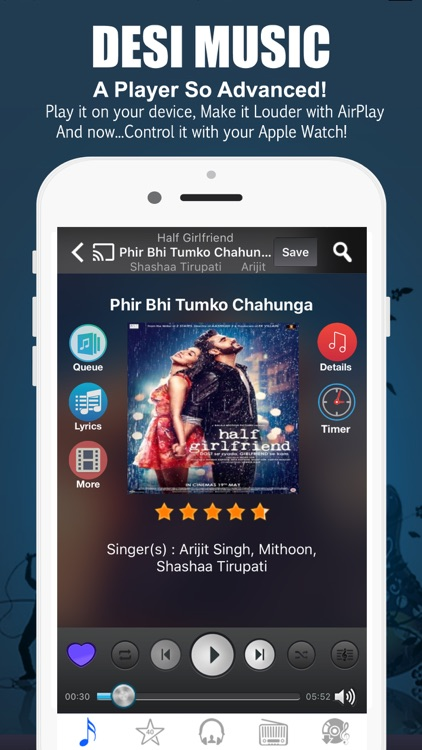 Desimusic: Hindi Songs & Radio