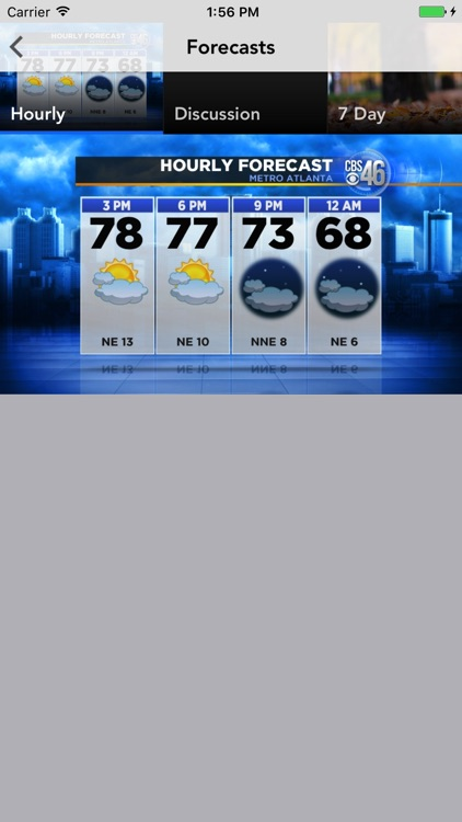 Atlanta Weather - CBS46 WGCL screenshot-3
