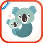 la familia y los hermanos koala Card Match HD icon
