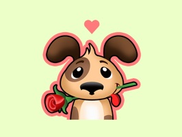 From the makers of PackRat, the largest online card collecting game in the world, comes this adorable collection of beautifully expressive stickers for you to send to your loved ones