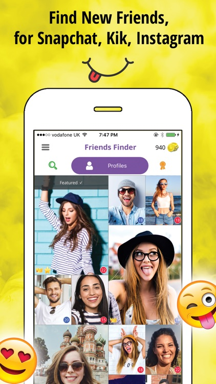 Friends Finder - Chat, Find Usernames for Snapchat