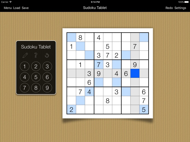 Sudoku Tablet screenshot-2