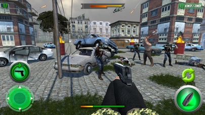 Crazy Zombie Sniper Shooting War screenshot one