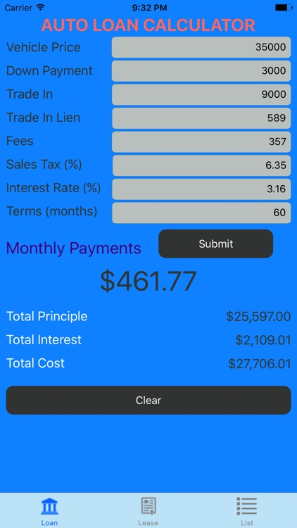 Car Loan Calculator – Auto Loan & Lease Calculator