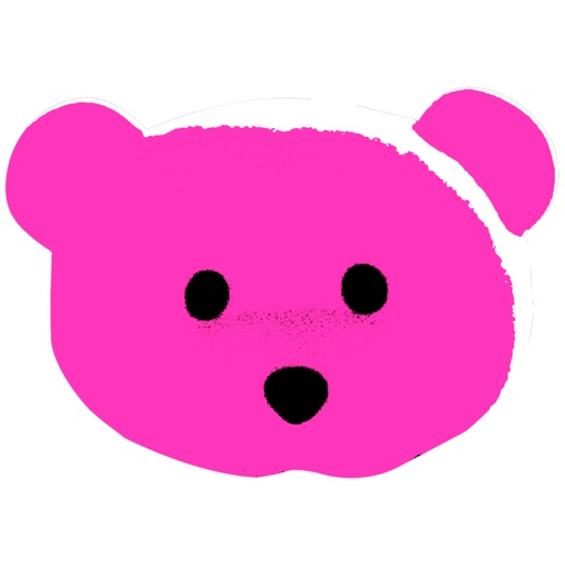 Pink Bear Sticker Pack