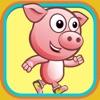 猪跑了儿童经典跑酷游戏