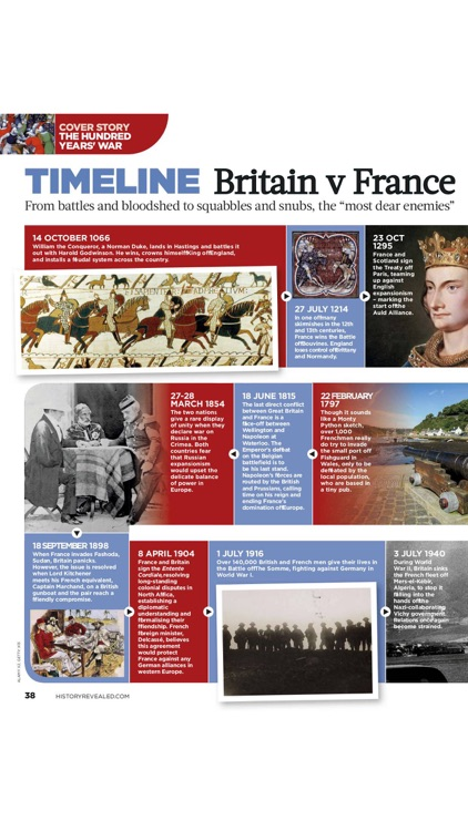 History Revealed magazine app image