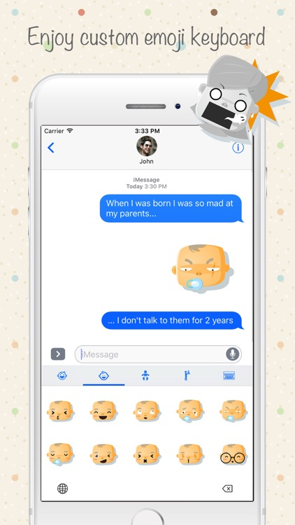 Babymoji - Emoji & Stickers screenshot-2