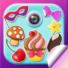 Cute Selfie Stickers for Photos & Picture Editor icon