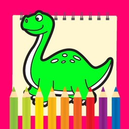 Dinosaur Coloring Pages Kids Game