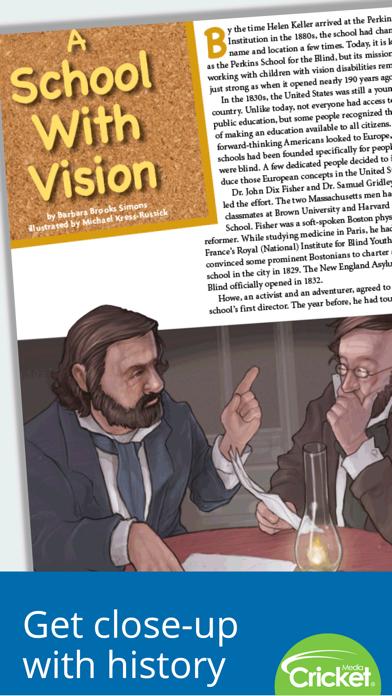 点击获取Cobblestone Magazine: U.S. history for kids