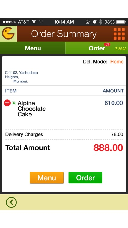Gopal Krishna Food Ordering screenshot-3