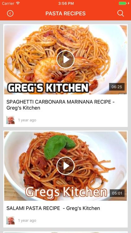 Noodles & Pasta Recipes: Food recipes & cookbook screenshot-3