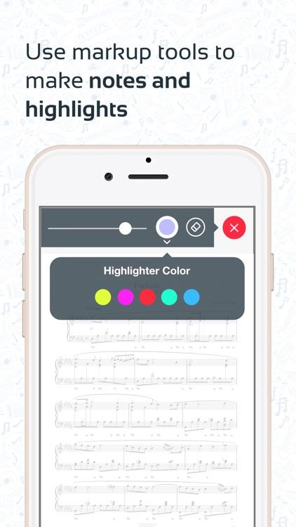 Musicnotes Sheet Music Player screenshot-4