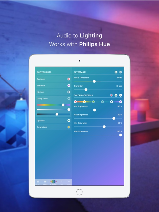 Hue Party for Philips Hue on the App Store
