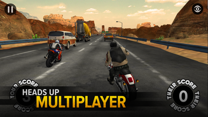 Screenshot from Highway Rider