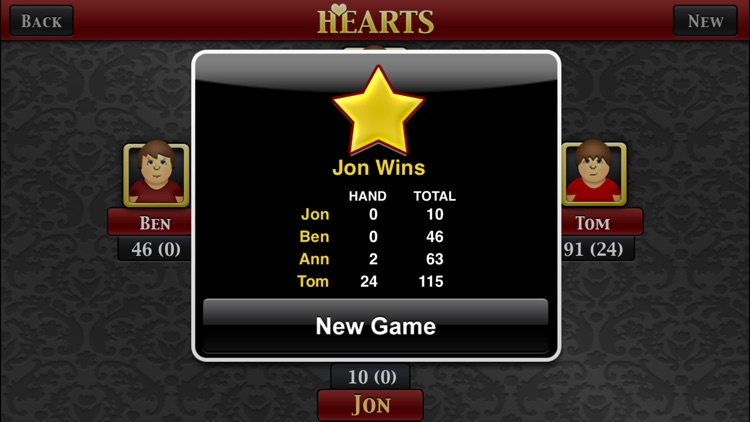 Hearts Premium screenshot-3