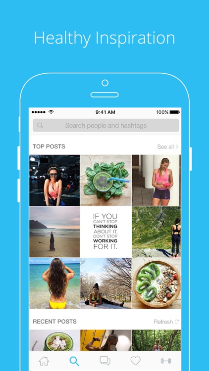 PumpUp - Health & Fitness Community screenshot-3