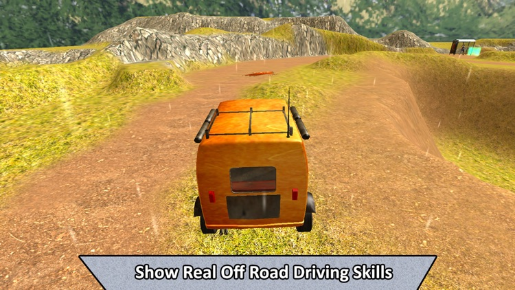 Real Off-Road Rickshaw Transport screenshot-0