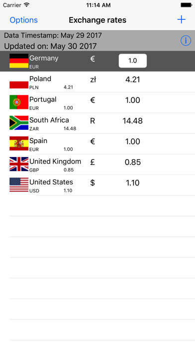 Exchange Rates Currency Converter screenshot two