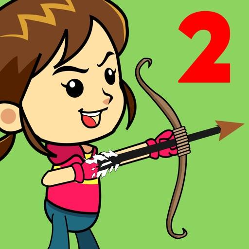 Shoot Girl's Fruits : Archery