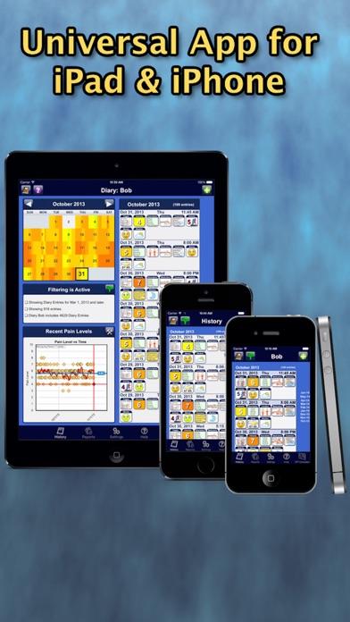 Chronic Pain Tracker review screenshots