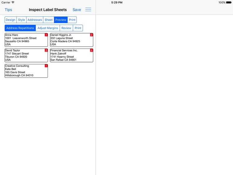Address Label Creator screenshot-3