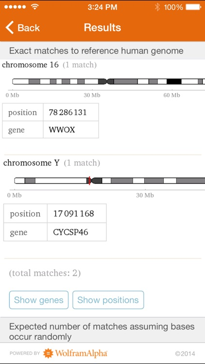 Wolfram Genomics Reference App screenshot-1